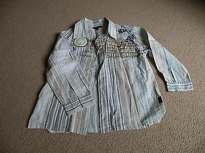 Boys Long Sleeved Shirt Age 4 Years
