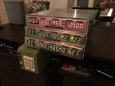 Very Rare Back To The Future Delorean Time Circuits And Keypad Prop Replica Fan