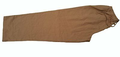 Saville Row Resort Male Pants Brown Casual Mens Trousers Large
