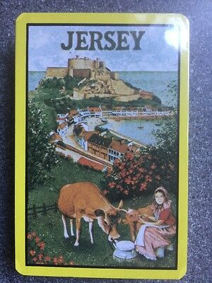 JERSEY souvenir playing cards - MINT SEALED