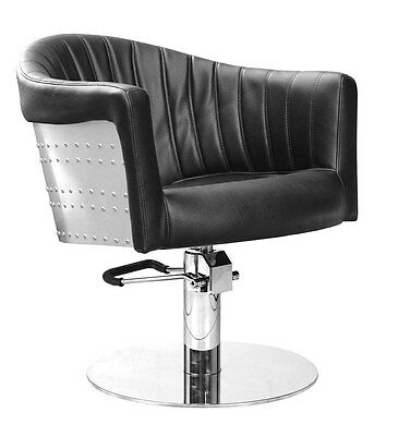 Comair Easy Chair St. Tropez, black - Styling chair Chair Hairdresser Furniture