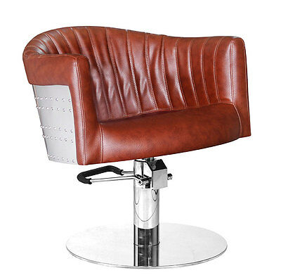 Comair Easy Chair St. Tropez, cognac-brown - Styling chair Chair Hairdresser Mö