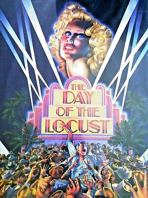 Donald Sutherland The Day of the Locust Original Film Movie Poster Theatrical