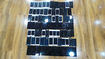 Job lot 82 x faulty mobile lcd Screen, Iphone , Sony, Samsung, Nokia , Untested