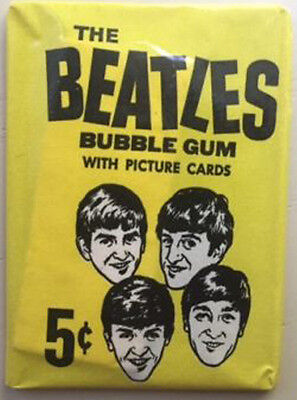 The Beatles / 1964 Opc Bubble Gum Cards / Unopened Wax Pack / Series Two!