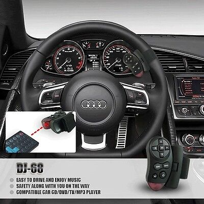 In Car Stereo Steering Wheel Infrared IR Remote Control