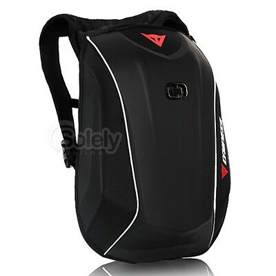 22L DAINESE D-MACH 3 Hard Shell Case Motorcycle Sport Bike Backpack Helmet Bag