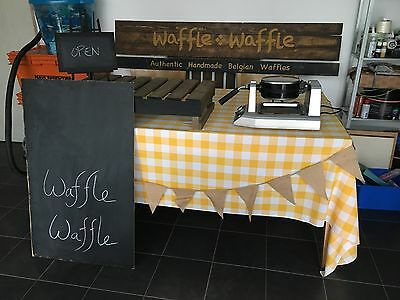 Waffle Start up Business for sell Ready to go