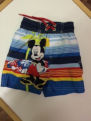 Mickey Mouse 6-9 Months Swim Shorts