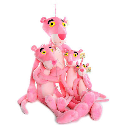Hot Pink Panther NICI Plush Toy Stuffed Animal Doll