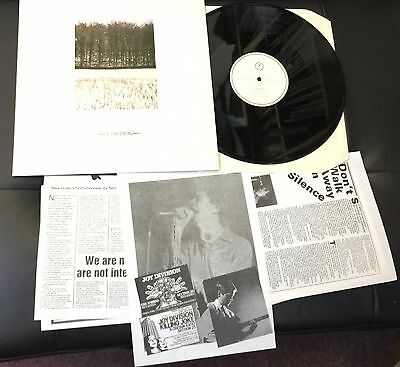 "Joy Division Atmosphere - 1st 12"" vinyl single record (Maxi) UK FACUS2 FACTORY"
