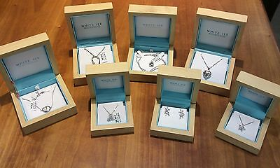 JOB LOT White Ice BRAND 925 Sterling Silver DIAMOND set Jewellery RRP £525.00