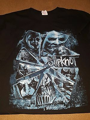 Slipknot Prepare for Hell 2015 Tour Two Sided T-Shirt Men's XL Extra Large