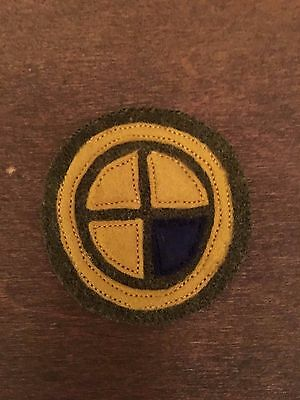 WWI US Army 35th Division unit patch AEF