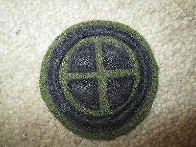 WWI US Army 35th Division  patch AEF
