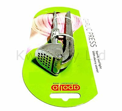 Quality  Garlic Crusher Squeezer Press With Nut Cracker Cherry Pitter