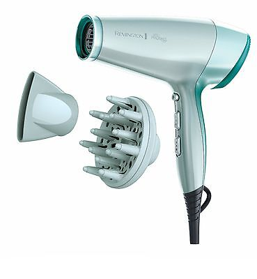 Remington D8700 PROtect Hair Dryer Ionic ThermoCare Technology 2400W