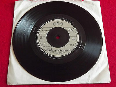 """Bachman-Turner Overdrive~Let It Ride/Blue Collar [7""""@45] 1974"""