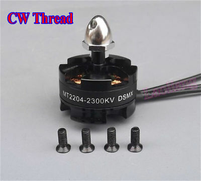 MT2204 KV2300 Brushless Motor CW Thread Für DSMX Through Machine 250 Helicopter