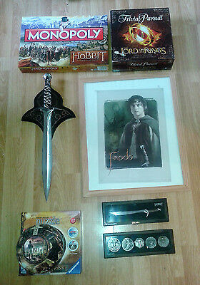 Fantastic collection of Lord of the Rings and the Hobbit merchandise