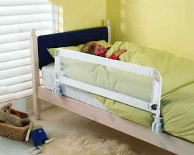 Bed Rail Sleep Guard Toddler Safety Secure Lock Mechanism Protects Your Child