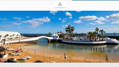 Sands beach resort lanzarote, 2 weeks easter holidays for 2 adults 2 kids