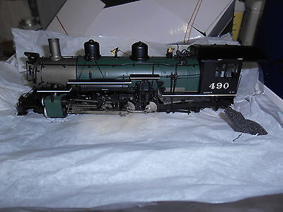 Mountain Model Imports K-37 #DC1113-1 On3 Road #490 2-8-2  F.P. Green Boiler
