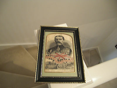 Lord Kitchener Stevengraph in frame