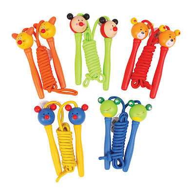 Bigjigs Toys Coloured Skipping Ropes (Pack of 2)