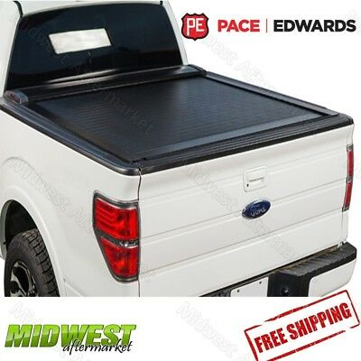 Pace Edwards Switchblade Retractable Tonneau Cover 14-18 GM Sierra Silverado 6'6