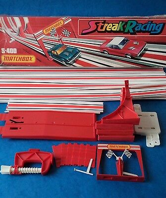 Vintage - MATCHBOX - SUPERFAST TRACK & ACCESSORIES - Streak Racing Spares etc