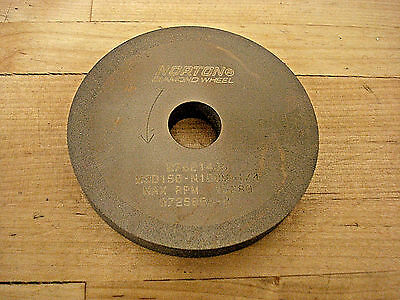 Norton Diamond Grinding Wheel, 1A1, 3 x 3/8 x 5/8, 150 Grit