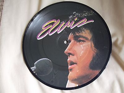 """ELVIS PRESLEY Sound Of Your Cry / I`ll Never Know 7"""" PICTURE DISC 1971"""