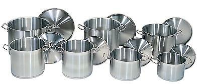 Update 80Qt Stainless Steel Induction Stock Pot W/ Cover - Sps-80