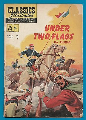 Classics Illustrated Comic Book # 86  Under Two Flags   #795