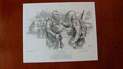 On the Warpath by Gil Cohen / Veteran Signed by the Filthy Thirteen