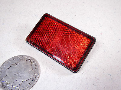 86 Honda Tg50 Gyro S Left/Right Rear Rack Luggage Carrier Red Reflector