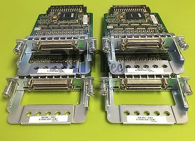 Cisco HWIC-16A 16 Port Asynchronous High Speed WAN Interface with HOLOGR.