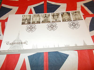 British Cathedrals    First Day Cover 2008**