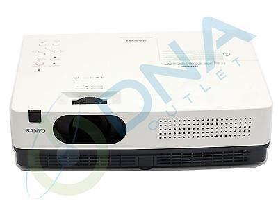 Sanyo Plc-Xe34 Lcd Digital Projector - 3179 Lamp Hours Used - Grade A