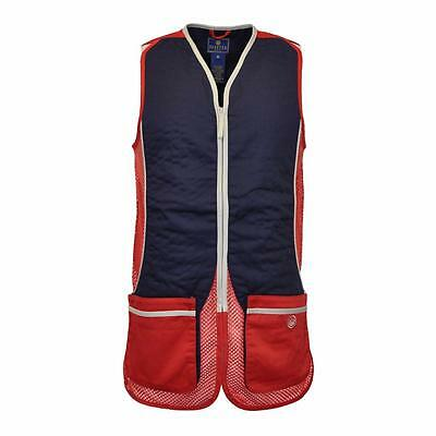 Beretta Silver Pigeon Vest Red BRAND NEW Hunting Shooting GT031 RRP £62
