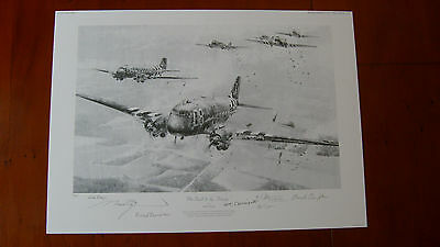 The Road to the Rhine by Robert Taylor / Veteran Signed - Artist Proof 9/25