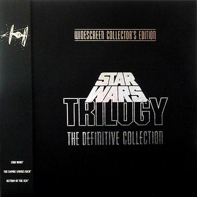 Star Wars Trilogy Definitive Collection Ws Cc Thx Cav - Box Set Ntsc Laserdisc