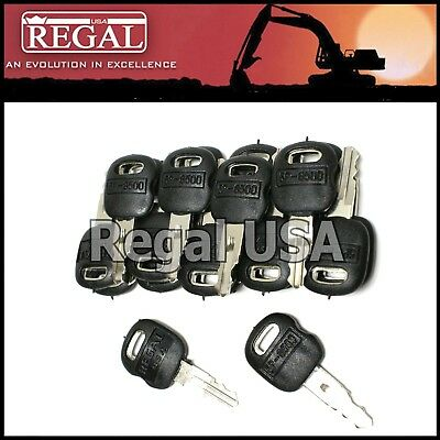 (20) 5P8500 Ignition Key old style for Caterpillar (5P-8500, 0964753, 0966198)