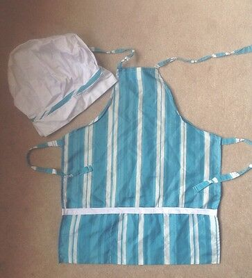 Children's Apron and Chefs Hat