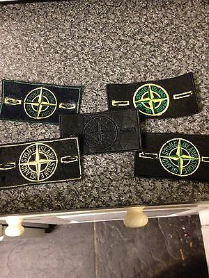 5 Stone Island Patches/badges