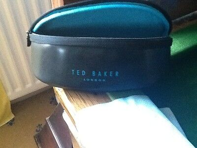 Ted Baker  sunglasses glasses soft black case  BNWoT with cloth