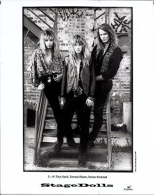 Stage Dolls, COOL official 8x10 press photo! 1989, U.S. record company portrait