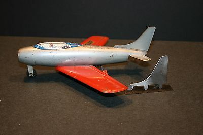 NEW! MARX Replacement Fin (Tail) for Marx Pressed Steel Toy Airplane F-86 Jet