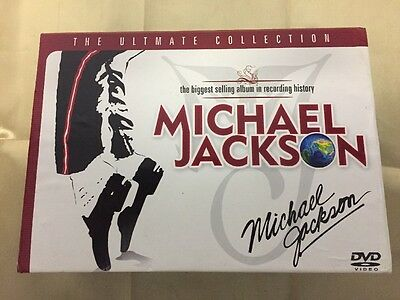 Michael Jackson Ultimate Collection 32 DVD & 1 CD Box Set Box set